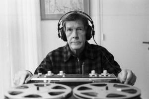 John Cage à Paris le 1981.