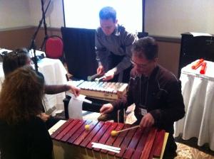 Les professeurs participants à l'atelier lors du congrès FAMEQ 2013 à Sherbrooke.
