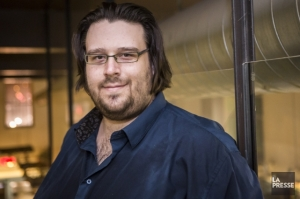 Le compositeur Éric Champagne, crédit photo : La Presse